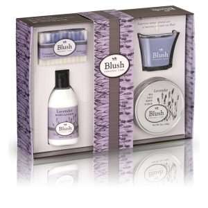 blush personal care set