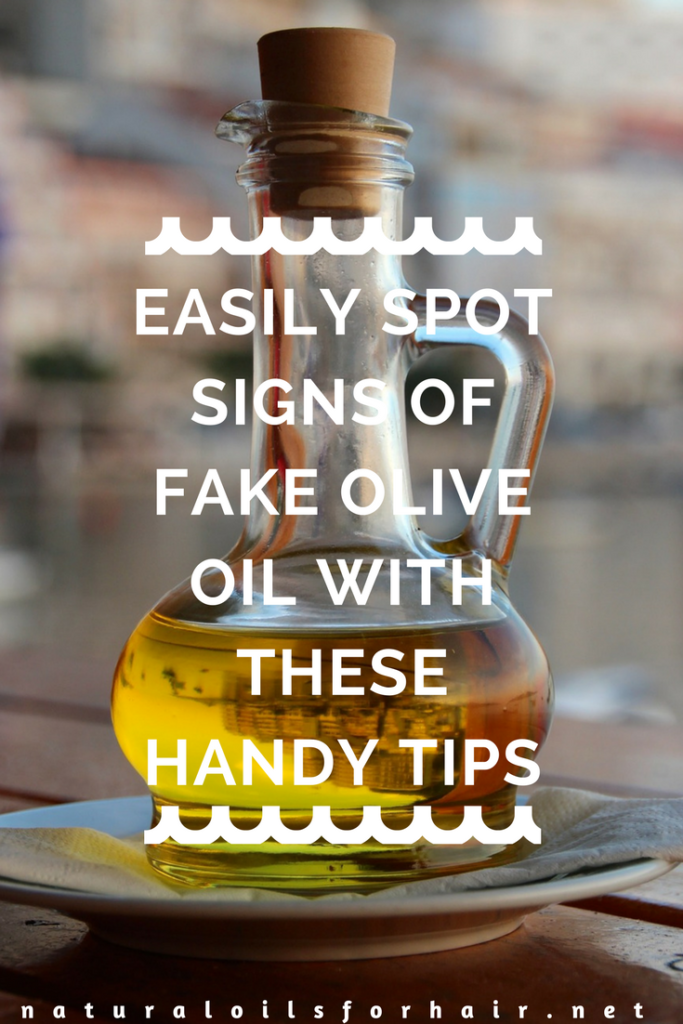 Easily spot signs of fake extra virgin olive oil with these handy tips