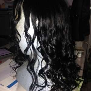 curlformers set on natural hair wig 2