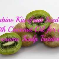 Combine Kiwifruit Seed Oil with Coconut Oil for an Awesome Scalp Treatment