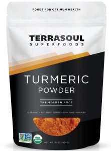 Terrasoul Superfoods Organic Turmeric Powder