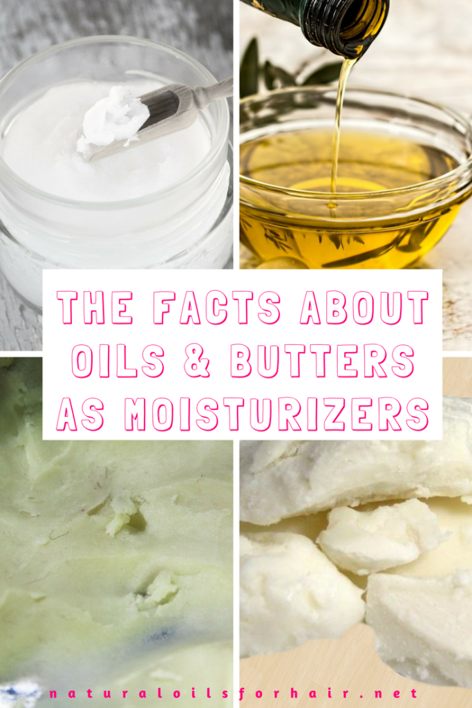 The Facts about Oils and Butters as Moisturizers for Curly Hair