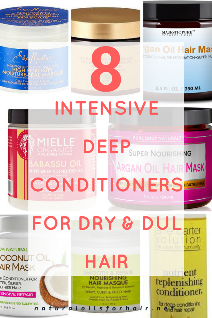 8 Intensive Deep Conditioners for Dry and Dull Hair