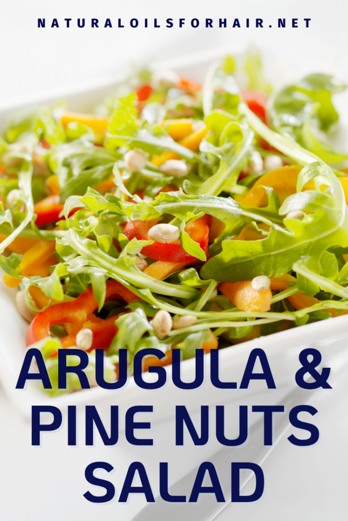 Arugula and Pine Nuts Salad from My Healthy Recipe Challenge