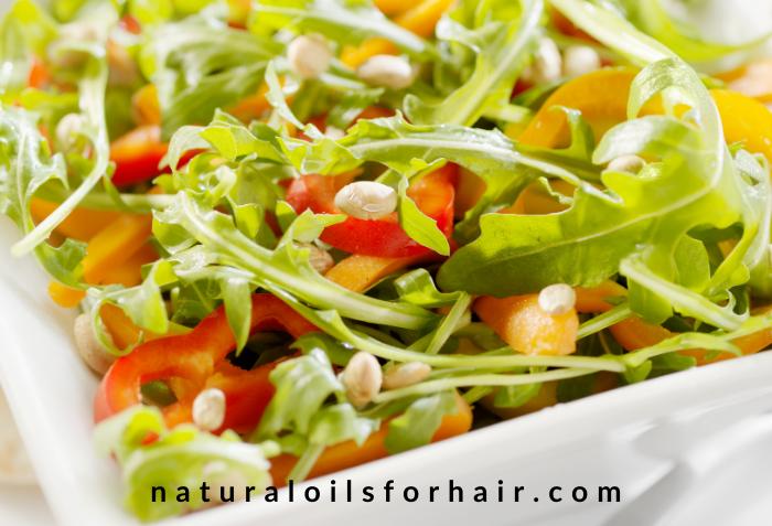 Arugula and Pine Nuts Salad, healthy recipe challenge