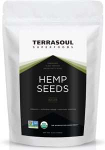 Terrasoul Superfoods Raw Hulled Hemp Seeds