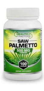 health factors Saw Palmetto