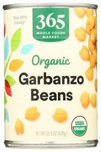 365 Whole Foods Market Garbanzo Beans