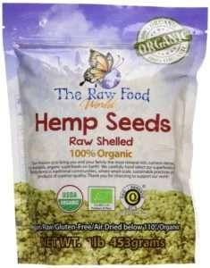 Raw Food World Organic Raw Hemp Seeds