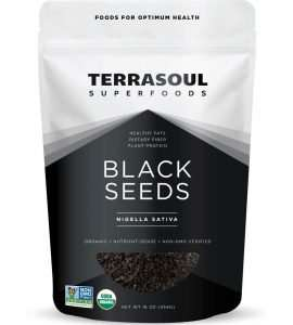 Terrasoul Superfoods Organic Black Cumin Seeds