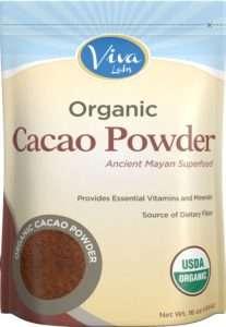 Viva Labs Organic Cacao Powder