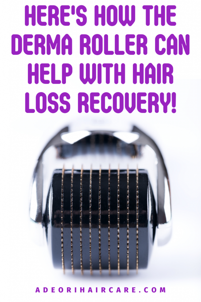 Here's how the derma roller can help with hair loss recovery and bald spots