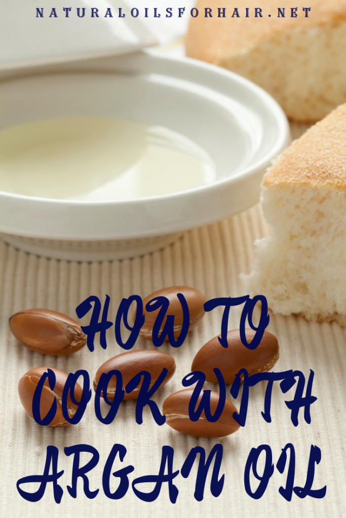 How to cook with argan oil