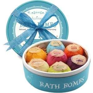 Aofmee Bath Bombs Spa Gift Set