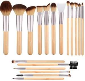 Bestope Make Up Brush Set, 17 pieces