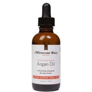 Moroccan Buzz Organic Fair-Trade Argan Oil