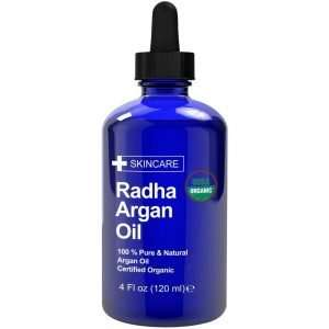 Radha Beauty Certified Organic Argan Oil