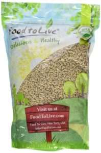 Food to Live Certified Organic Hemp Seeds