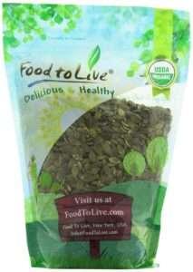 Food to Live Organic Pumpkin Seeds