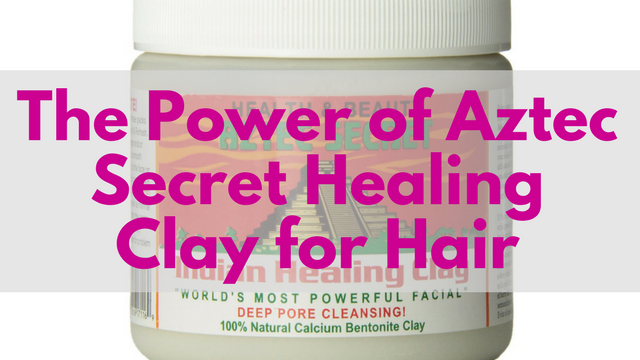 aztec secret healing clay for hair