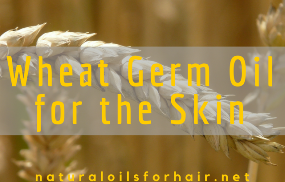 wheat germ oil for the skin