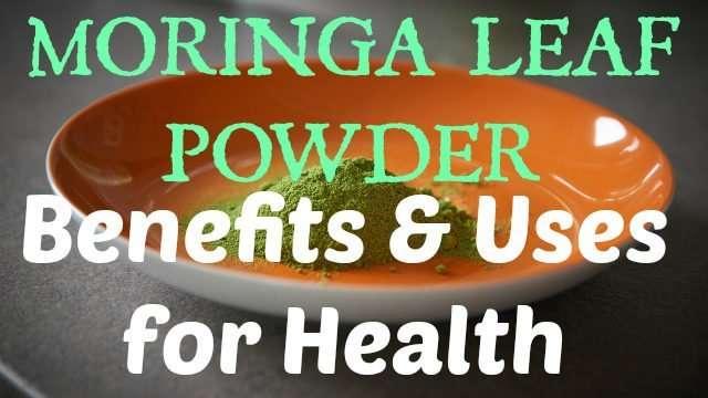 Moringa Leaf Powder Benefits & Uses for Health
