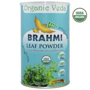 Organic Veda Organic Brahmi Powder