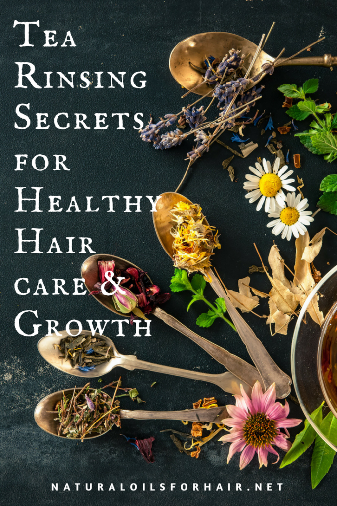 Tea Rinsing Secrets for Healthy Hair Care and Growth
