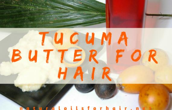 Tucuma Butter for Hair