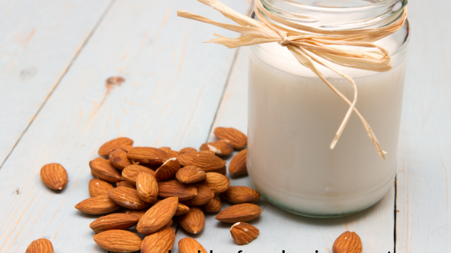almond milk for healthy hair