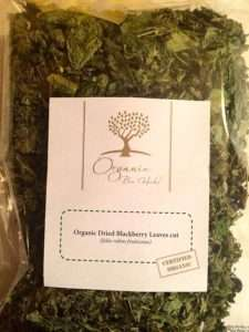 Organic Bio Herbs Blackberry Leaves
