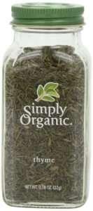 Simply Organic Thyme Leaf