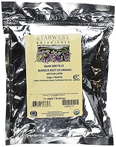Starwest Botanicals Organic Dried Burdock Root