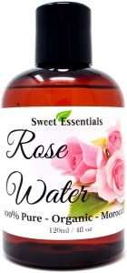 Sweet Essentials Premium Organic Moroccan Rose Water