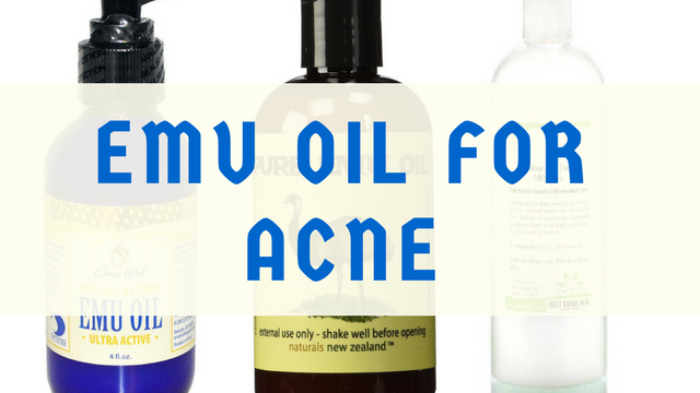 emu oil for acne