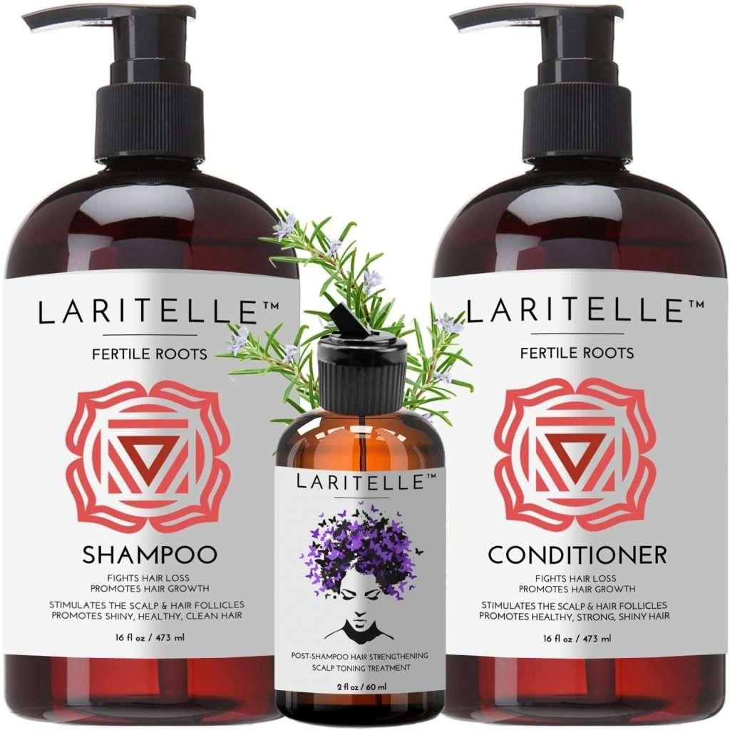 Laritelle Organic Hair Care Set Fertile Roots Hair Care Set