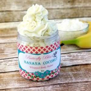Banana Bliss banana coconut body butter