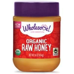 Wholesome Sweeteners Organic Raw Honey