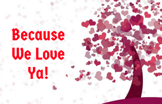 50% off in the valentine's day sweetheart sale
