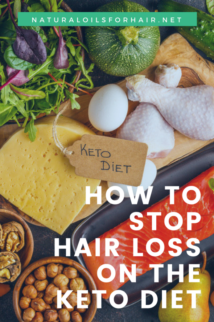 How to stop hair loss on the keto diet