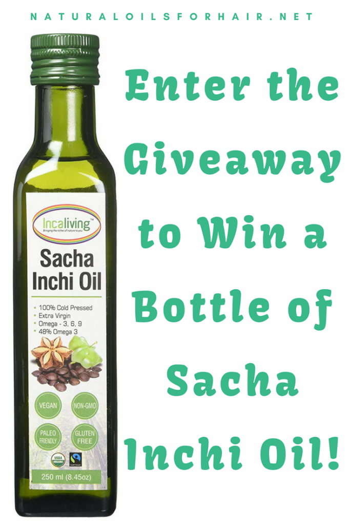 Enter the Giveaway to Win a Bottle of Sacha Inchi Oil