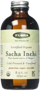 Flora Organic Extra-Virgin Sacha Inchi Oil