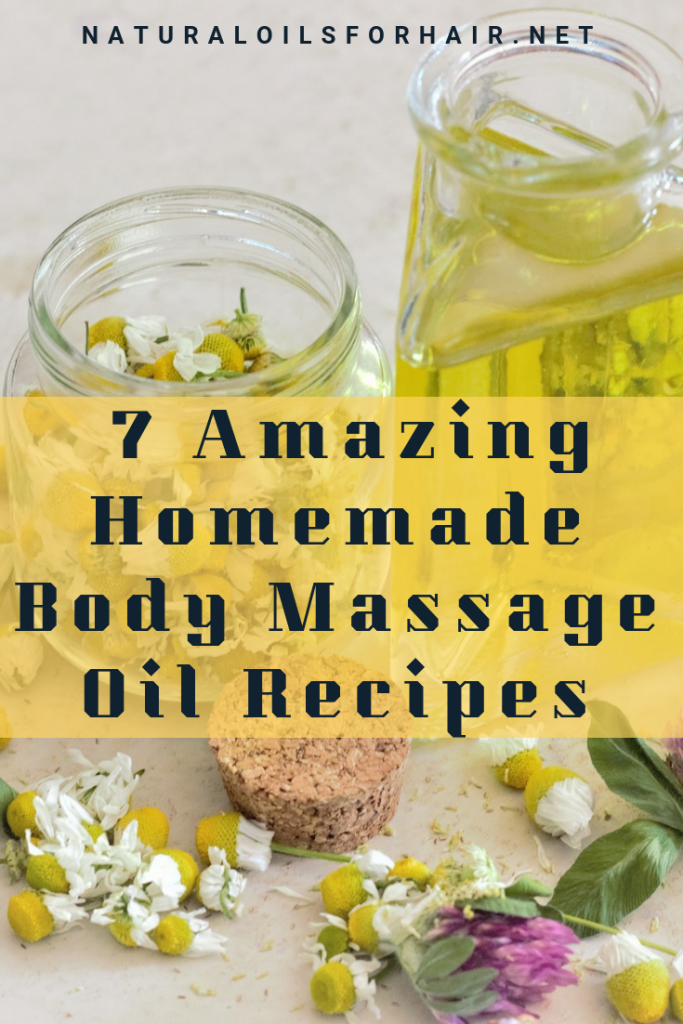 7 Amazing Homemade Body Massage Oil Recipes. Get your DIY on with these easy to make massage oil blends plus how to massage yourself at home
