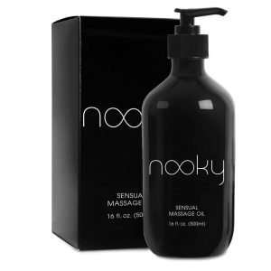 Nooky Massage Oil With Essential and Sweet Almond Oils