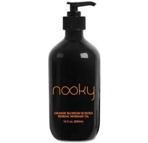 Nooky Orange Blossom Massage Oil. With Jojoba & Essential Oils