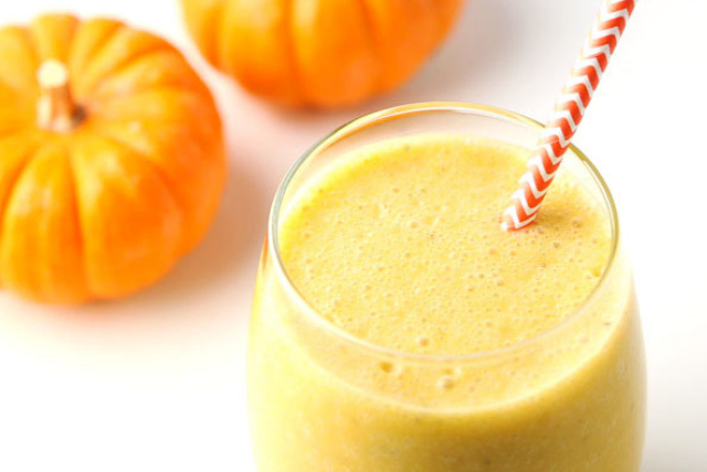 Pumpkin Chai Protein Smoothie, healthy breakfast smoothies