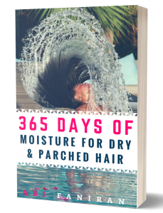 365 days of moisture for parched and dry hair