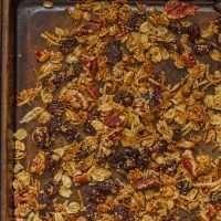 Maple-Amaranth Granola