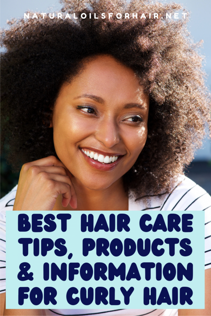 Best hair care products, information and tips for curly hair