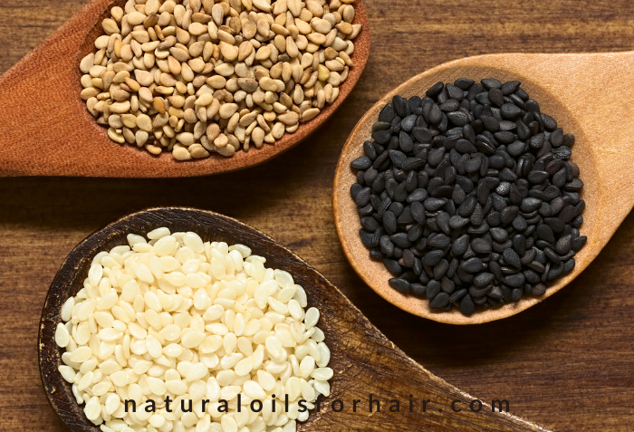Sesame seeds for glowing skin